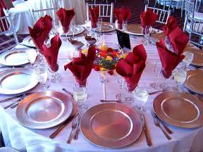 Wedding Reception Table Settings Table Setting My Tucson Wedding