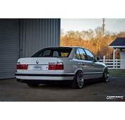 Lowered BMW 525i E34