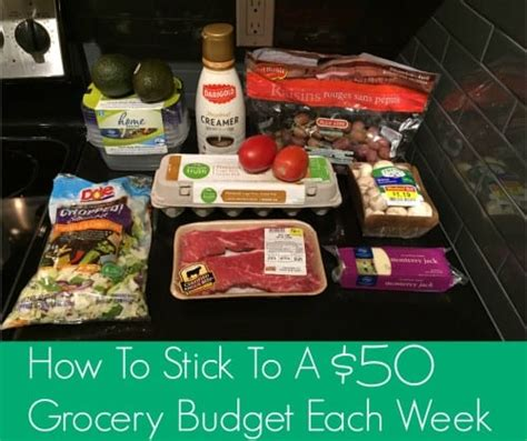 breaking    grocery budget    budget