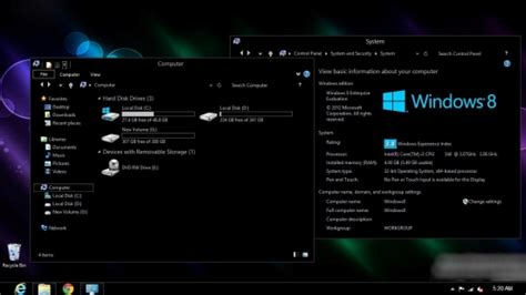 black themes for windows 8 another dark theme for windows 8 chameleon