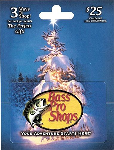 Bass Pro Gift Card Online - bass pro shops holiday 25 gift card shop giftcards