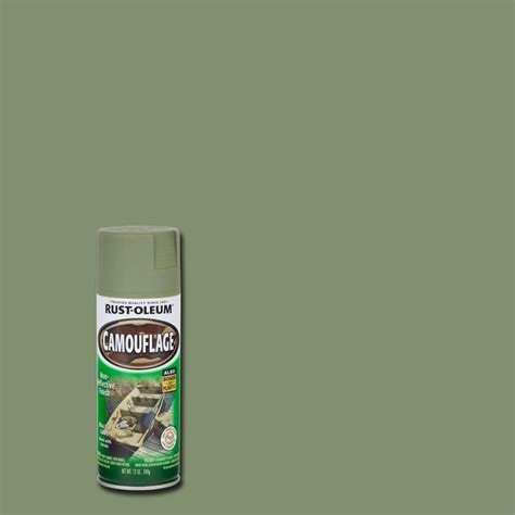 home depot paint colors green rust oleum specialty 12 oz army green camouflage spray