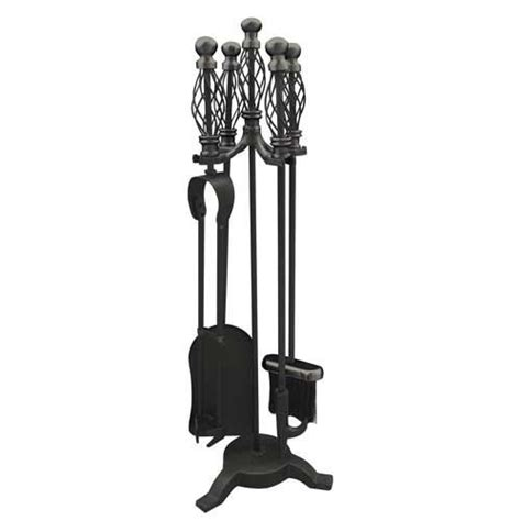 Cast Iron Fireplace Set by Great Value Fireplace Fireside Accessories Companion Sets