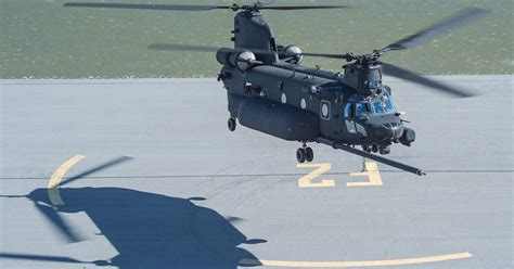 Cargo Helicopter Program Management Office Snafu Boeing Delivers New Build Mh 47g Special