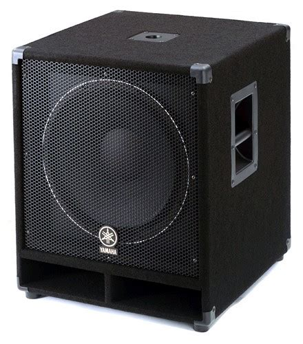 Speaker Yamaha 15 Inch yamaha sw115v 15 inch subwoofer proavmax sales the professional s av resource