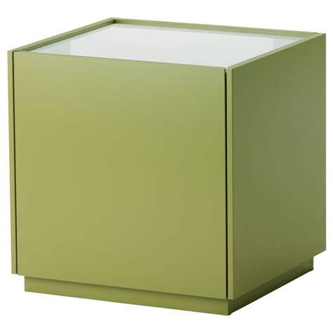White Ikea Nightstand Nyvoll Nightstand Green White Ikea Furniture Pinterest