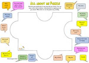 all about me puzzle piece elsa support