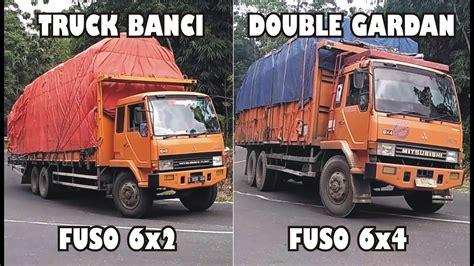 Gardan Truck perbedaan truk tronton fuso 6x2 banci vs truk fuso 6x4