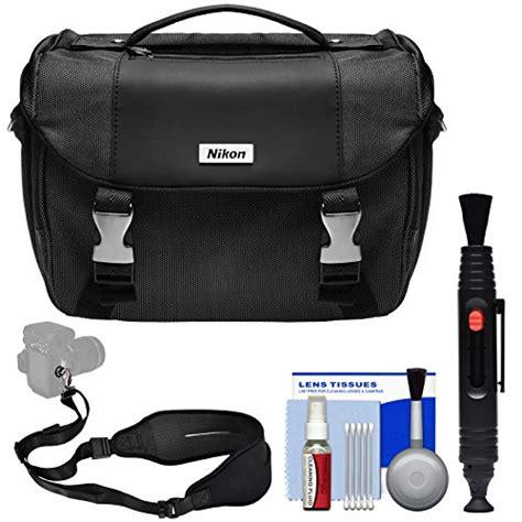 nikon deluxe digital slr bag with kit certified refurbished for d3300 d3400