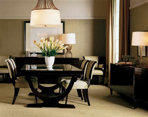 Contemporary Dining Room Decorating Ideas Baker Furniture Grand Rapids Mi Portobello Road
