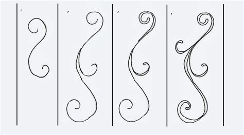 how to draw doodle swirls how to draw scrolls and scrollwork class ideas