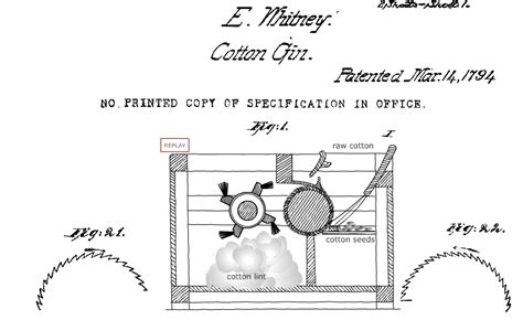 cotton gin diagram how to draw cotton gin
