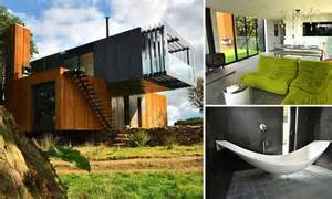 Chief Architect House Plans by Grand Designs Shipping Container House Built By Farmer To