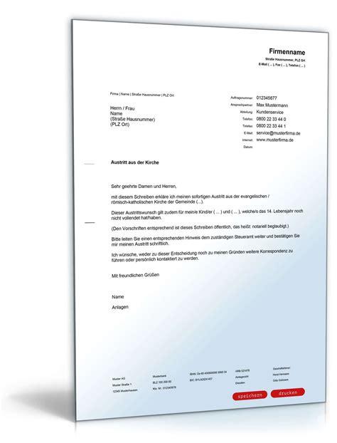 Briefvorlage Antrag Ratenzahlung Antrag Kirchenaustritt Mecklenburg Vorpommern Muster Zum