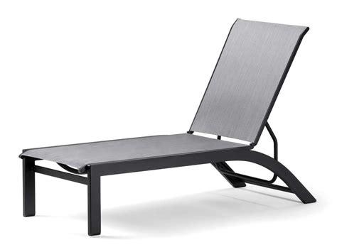 sling aluminum chaise lounge telescope casual kendall sling aluminum lay flat patio