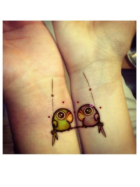 tattoo meaning together forever love birds together forever love sealed with ink heart