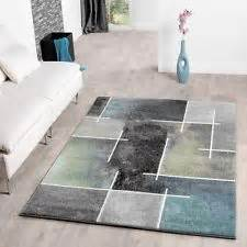 teppich kurzflor petrol teppich kurzflor ebay