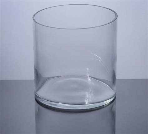 6 Cylinder Vase by Pc606 Cylinder Glass Vase 6 Quot X 6 Quot 12 P C Cylinder Glass