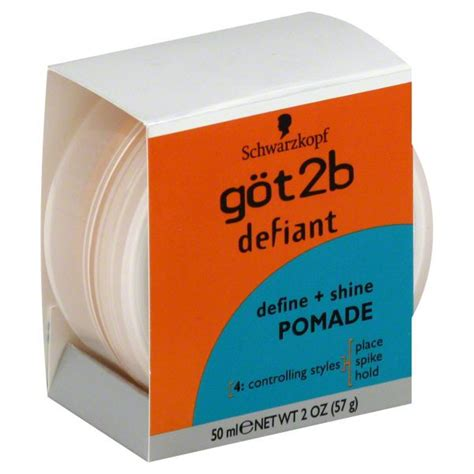 Pomade Got2b got2b defiant pomade define shine 2 oz 50 ml 57 g