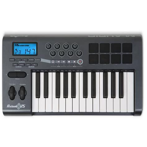Keyboard M Audio m audio axiom 25 midi keyboard 25 key midi keyboard from inta audio uk