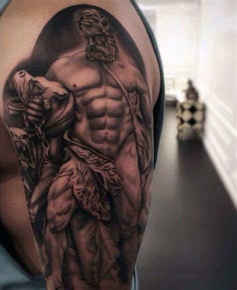 hades tattoo 75 hercules designs for heroic ink ideas