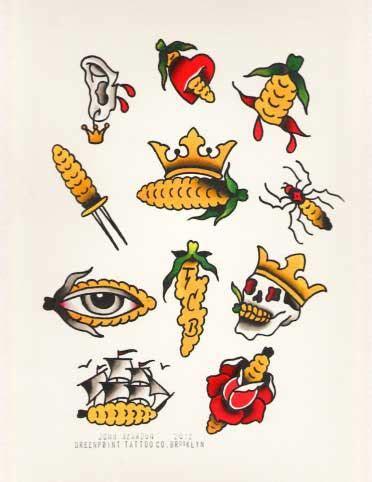 corn tattoo ink archives greenpointersgreenpointers