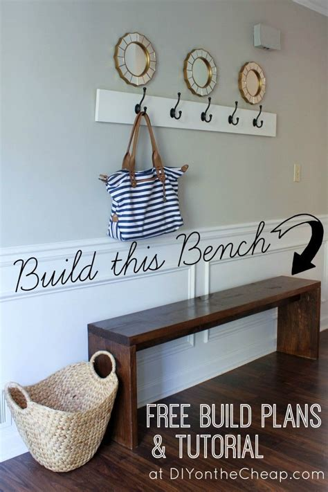 skinny bench hallway 1000 ideas about small entryway bench on pinterest small entryway decor small