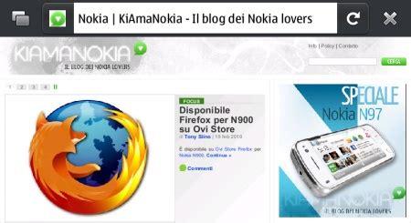 nokia themes for firefox disponibile firefox per n900 su ovi store kiamanokia