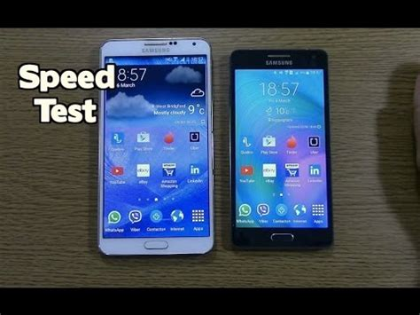 Samsung A5 Lollipop galaxy a5 vs galaxy note 3 5 0 lollipop speed test