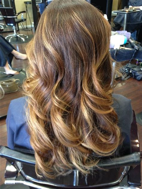 pictures of brown and blode ombre hair brown ombre with blonde highlights hair and beauty