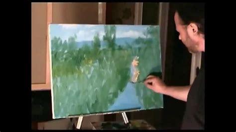 dipingere fiori a olio zuccheri pittura a olio su tela della foresta erba