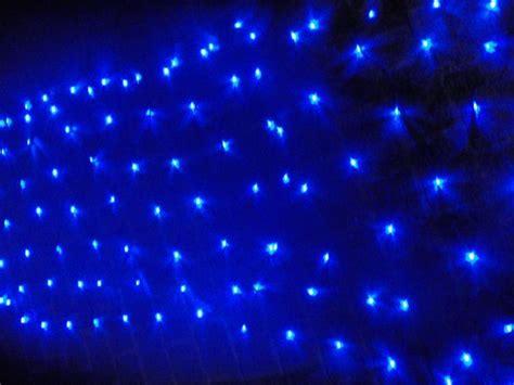 Blue Led Net Light Net Lights