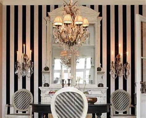 black and white interior wallpaper white and black wallpaper modern interior decorating ideas