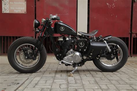 Style Garage Royal Enfield Bobber Project Page 4 Team Bhp
