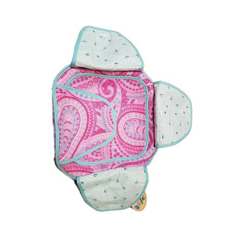 Box Roti traditional roti box bread cover pink pattern with