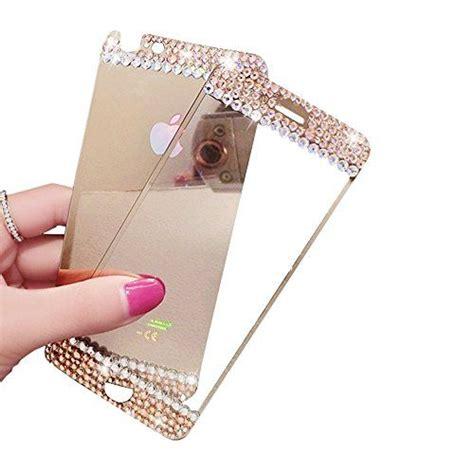 gold iphone  mirror effect anti scratches gravydeals