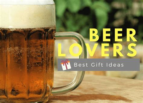 Best Gifts For Beer Lovers Unique And Fun Hahappy