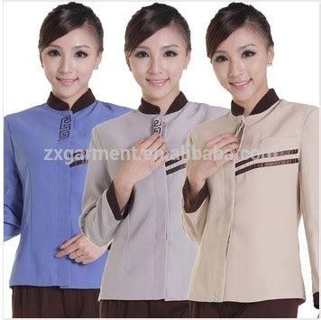 desain baju chef hotel seragam disesuaikan cleaner rumah tangga pelayan