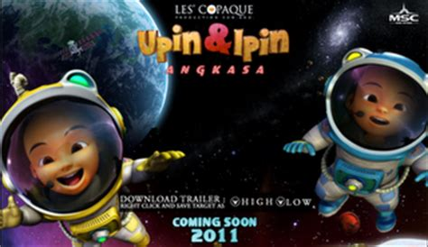 film upin dan ipin yang terbaru februari 2011 upin dan ipin geng