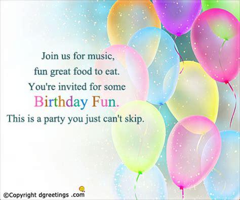 Ee  Birthday Ee   Invitation Wording  Ee  Birthday Ee   Invitation Message