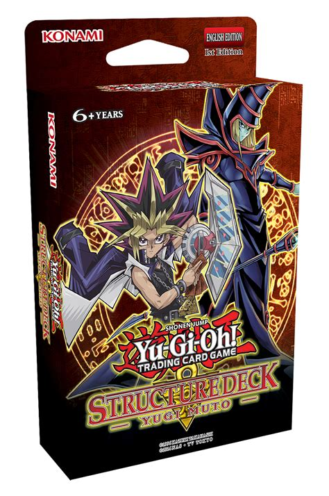 Yugioh Deck by Yu Gi Oh Yugi Muto Structure Deck At Mighty Ape Nz