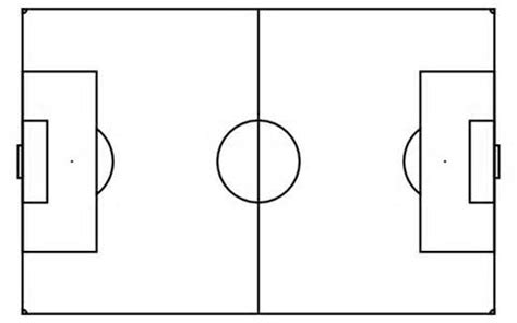soccer field template coaches