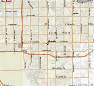 map chandler arizona southeast valley cities