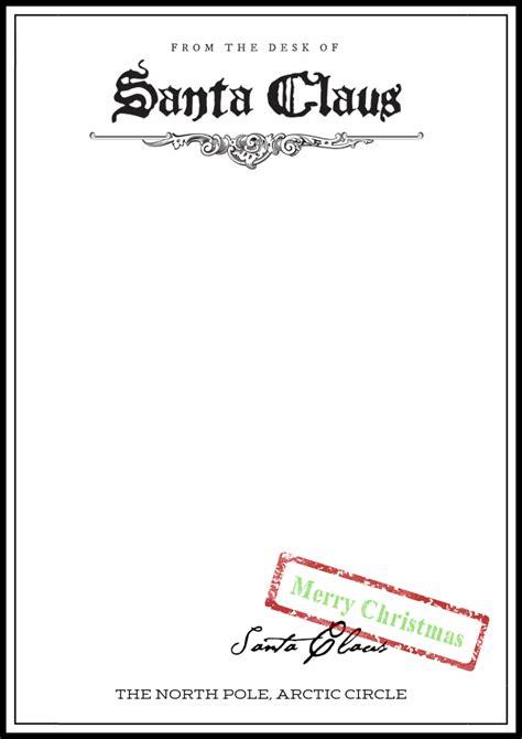 christmas letter templates elves santa