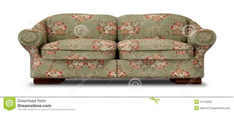 where to take an old couch old floral sofa front stock illustration illustration of