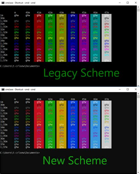 updated windows 10 console colors for upcoming build quot leaked quot