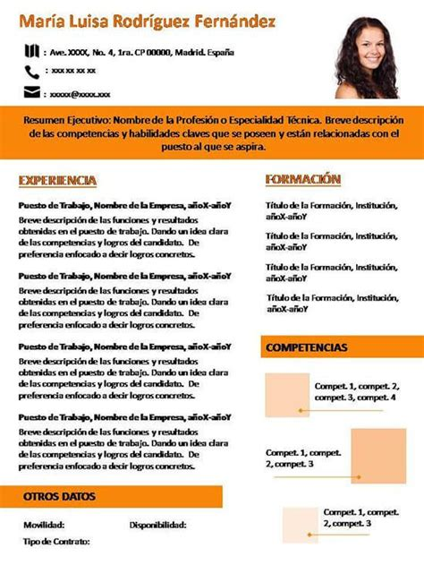 Plantilla De Curriculum Actual Modelo Resume 2016 Apexwallpapers
