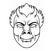Lieve Stoere Enge Maskers Kleurplaten Om In Te Kleuren En Daarna Met