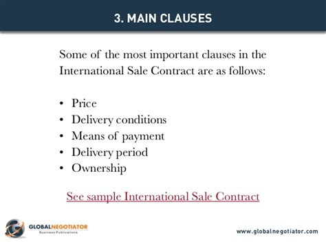 Informal Letter Of Agreement Sle International Sale Contract Contract Template And Sle