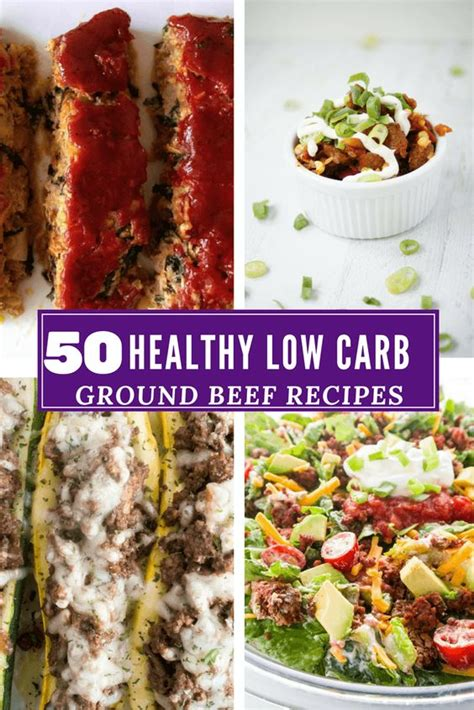50 ground beef recipes low carb and healthy recipe roundup